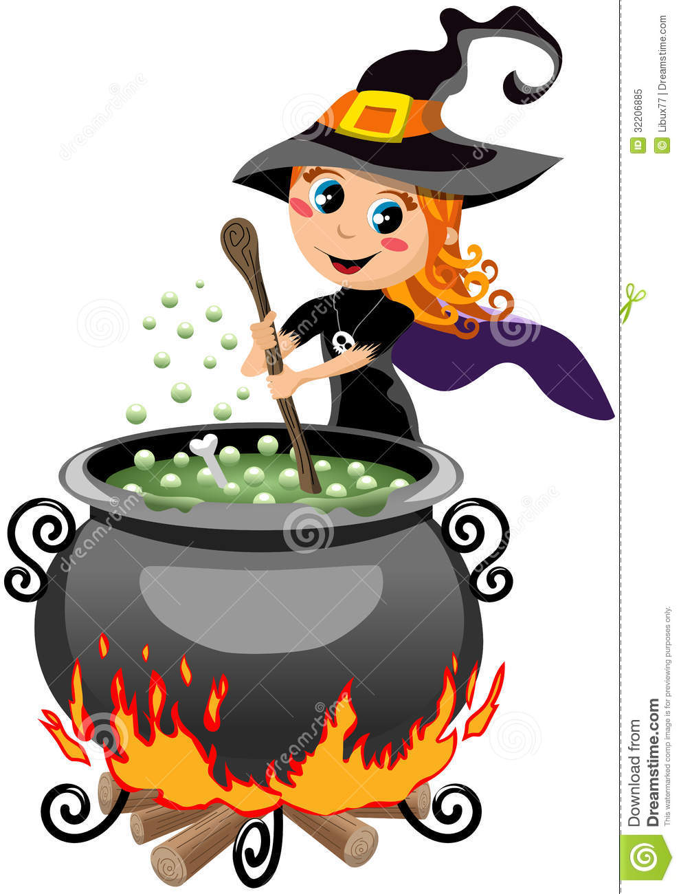 Witches brew clip art.
