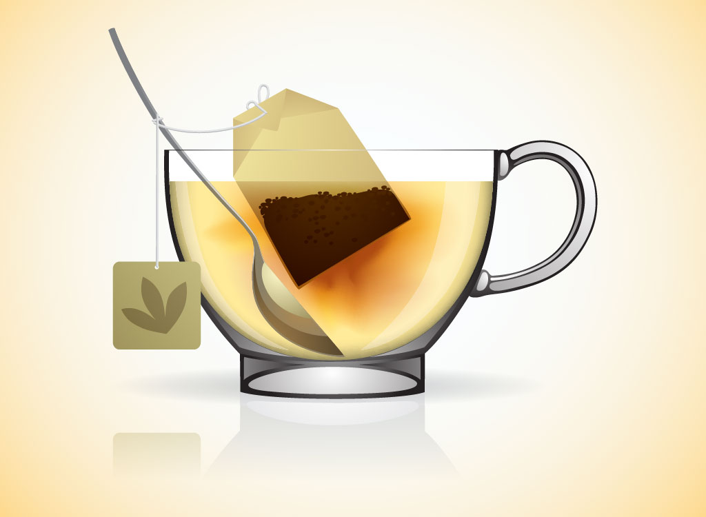 Tea Bag Clipart.