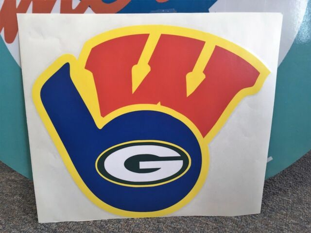 WISCONSIN SPORTS DECAL.