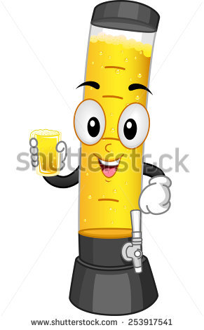 Beer Tower Stock Photos, Royalty.