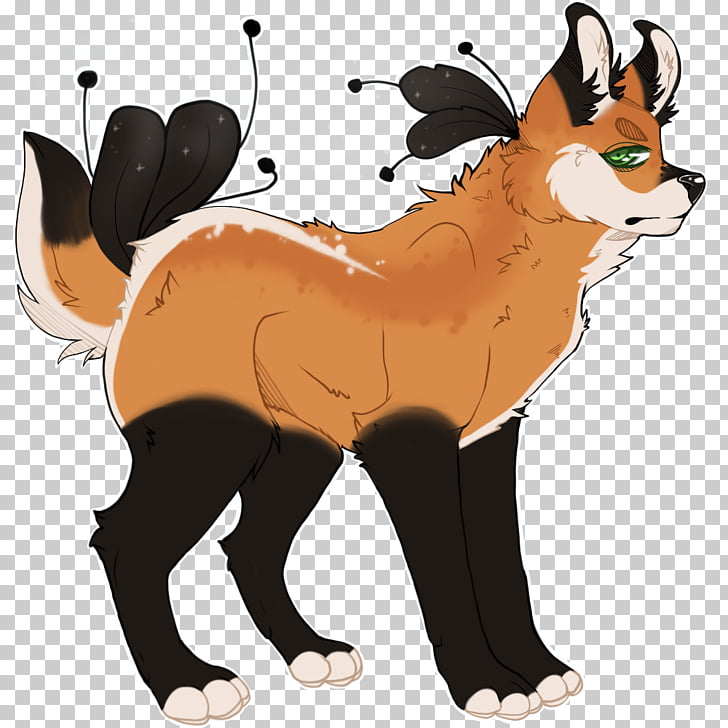 Red fox Character Wildlife , bribe PNG clipart.