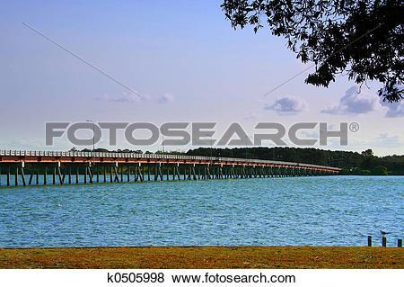 Pictures of Bridge To Bribie k0505998.