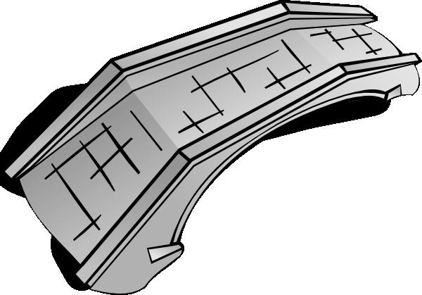 Simple Bridge Clipart.