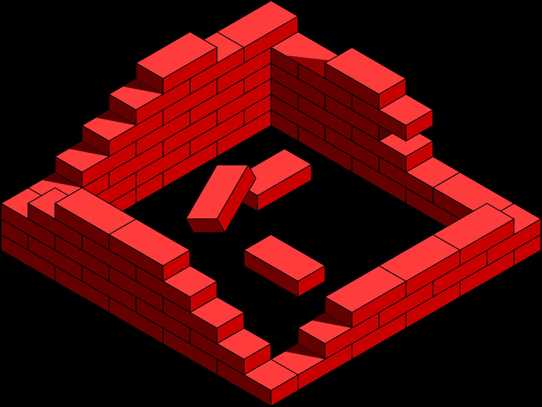 Brick clipart kid.