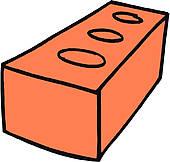 Clay Brick Clip Art.