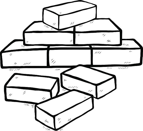Brick clipart black and white » Clipart Station.