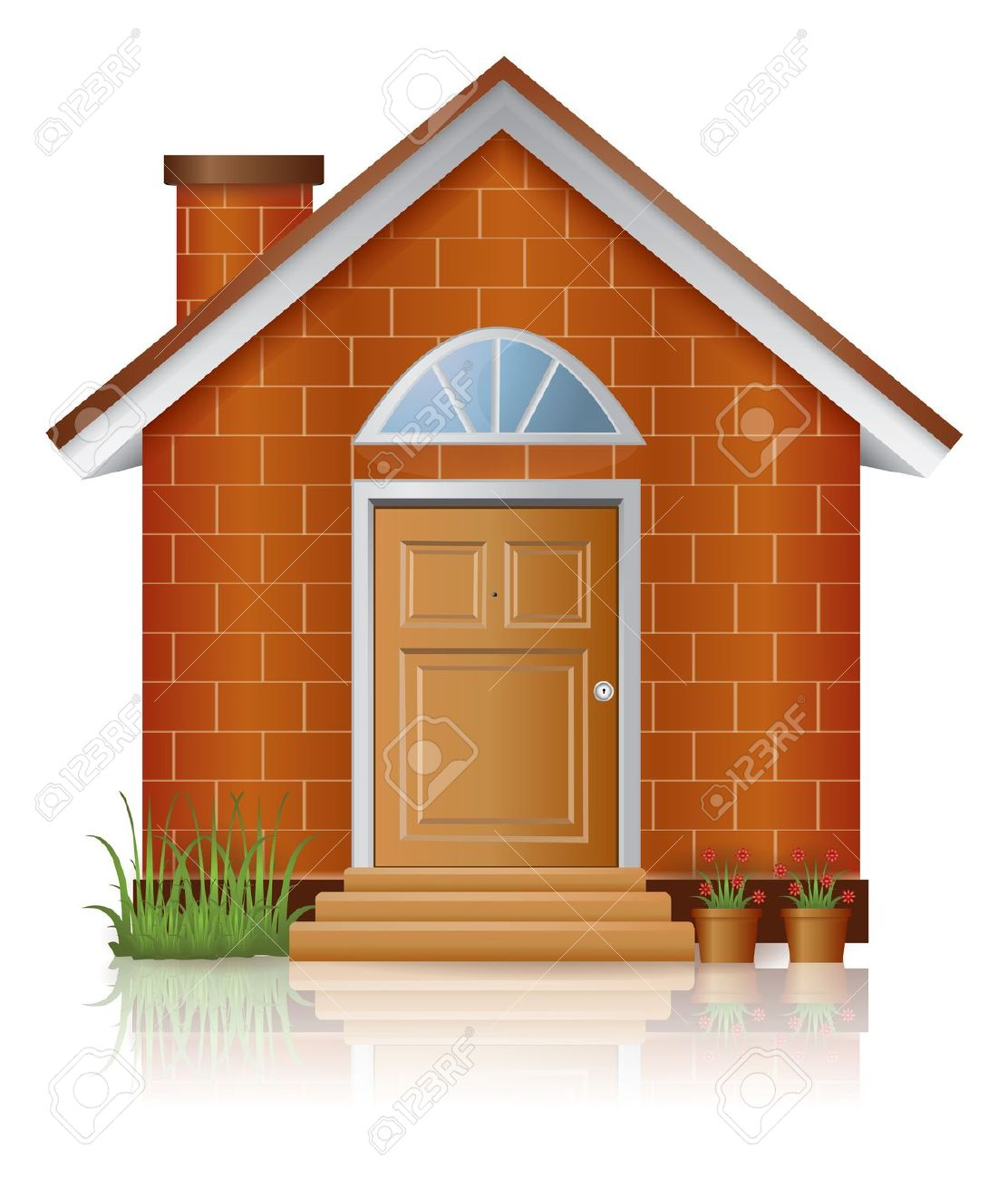 34+ Brick House Clipart.