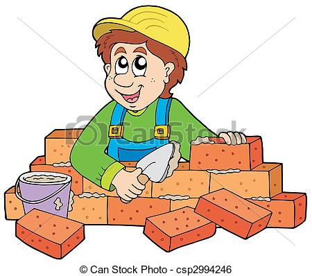 Bricklayer Illustrations and Clip Art. 1,626 Bricklayer royalty.