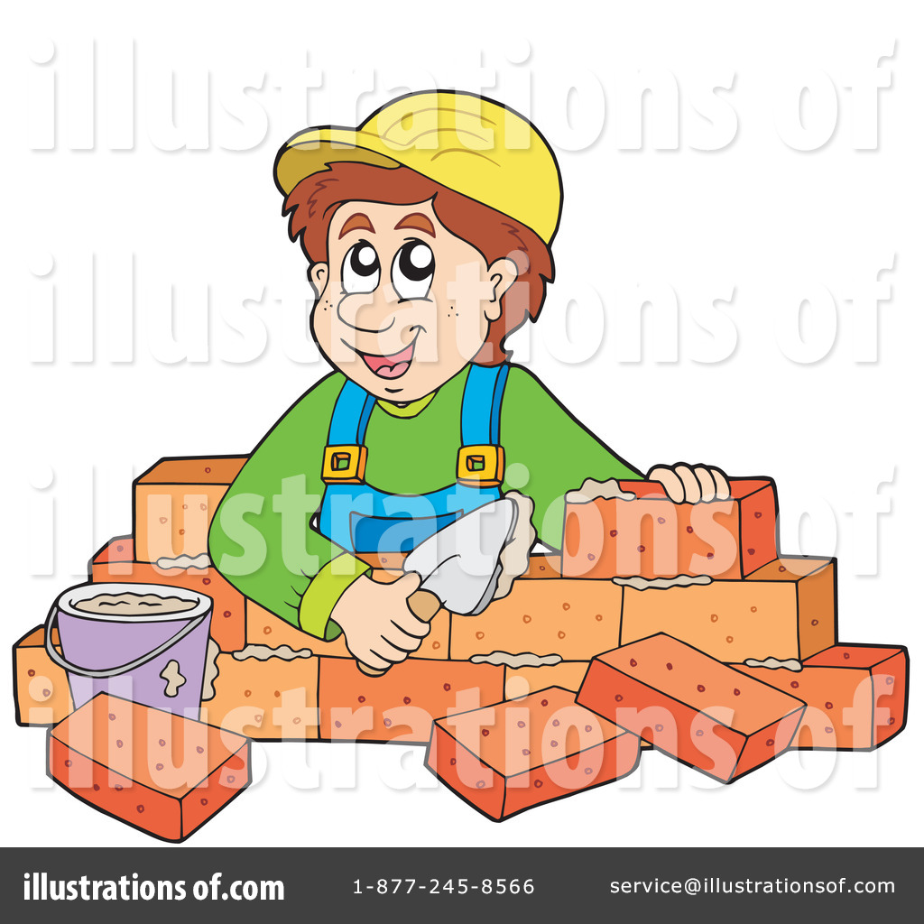 Bricklayer Clipart #213524.