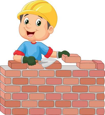 5,693 Bricklayer Stock Illustrations, Cliparts And Royalty Free.