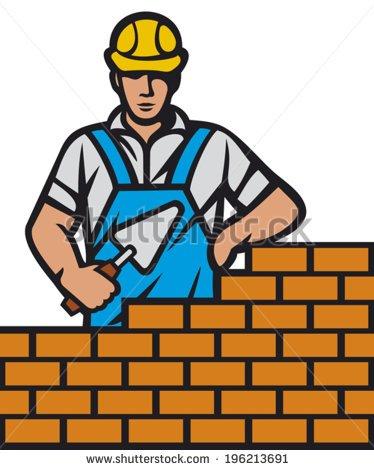 Brick mason clipart 2 » Clipart Portal.