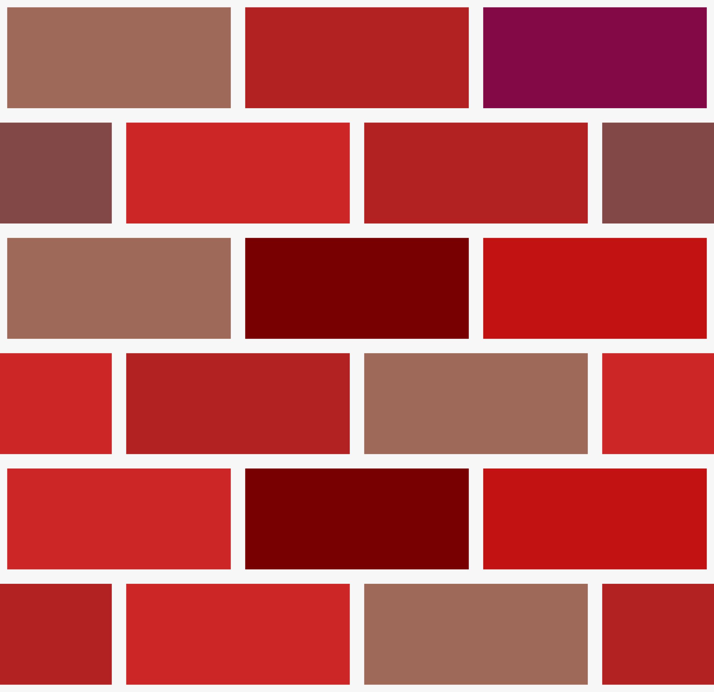 Brick Wall Clip Art: Brick Pattern Clipart