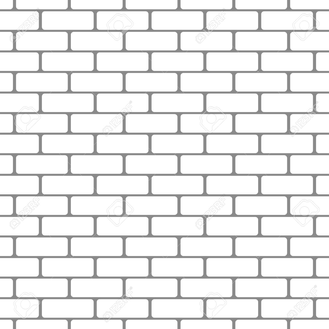 Clipart with brick pattern.