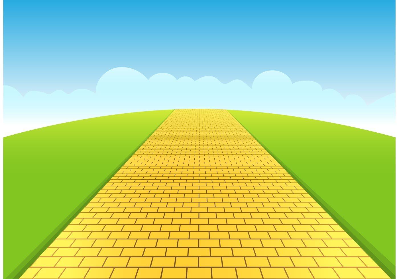 Yellow brick road clipart free » Clipart Portal.