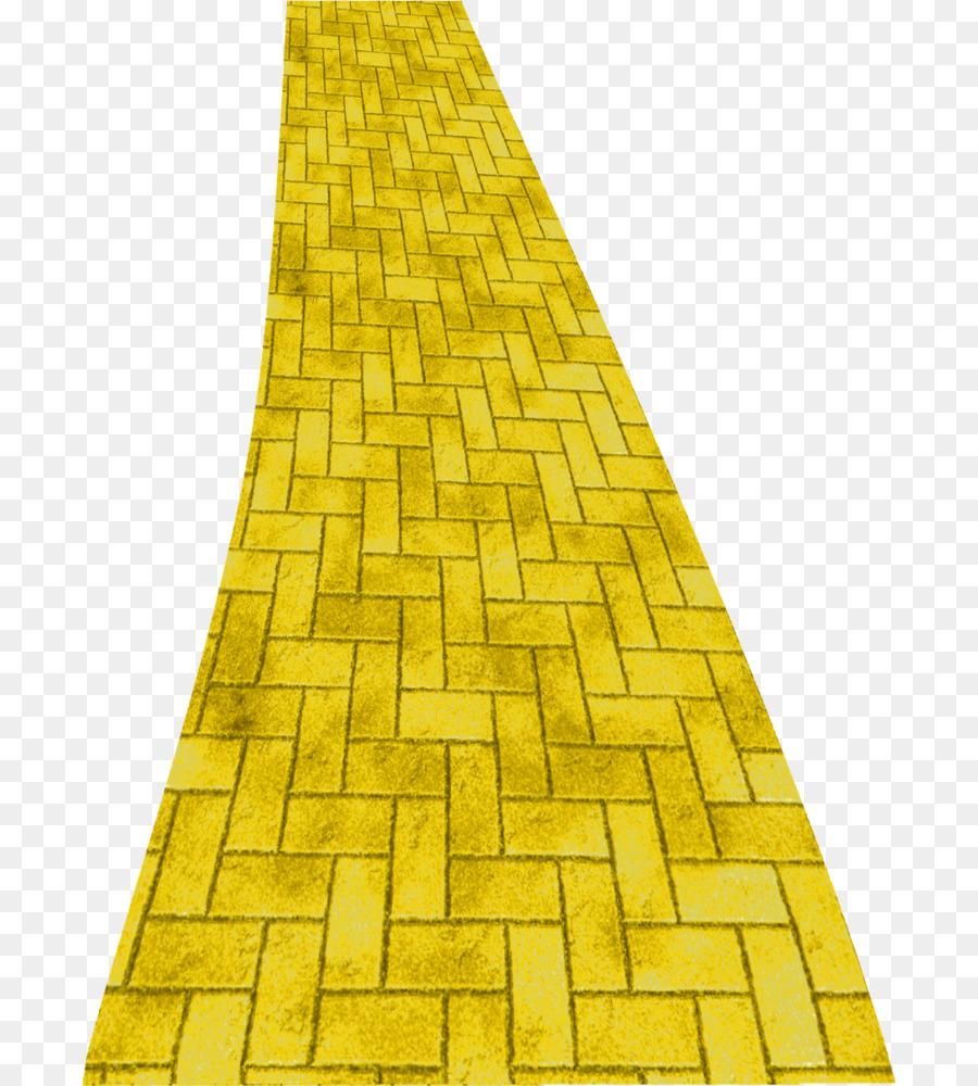 Yellow Brick Road png download.