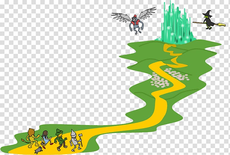 The Wonderful Wizard of Oz Yellow brick road Wicked Witch of the.