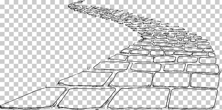 Brick Road Paper Line art , road PNG clipart.