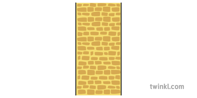 Yellow Brick Road Border 1 Illustration.