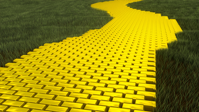 Follow Your Yellow Brick Road.