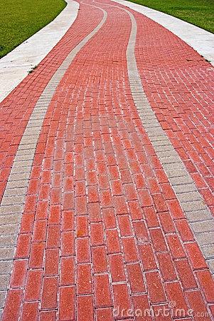 Clip Art Path Sidewalk Clipart#2079348.