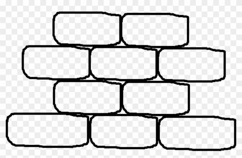 Brick wall clipart black and white » Clipart Portal.