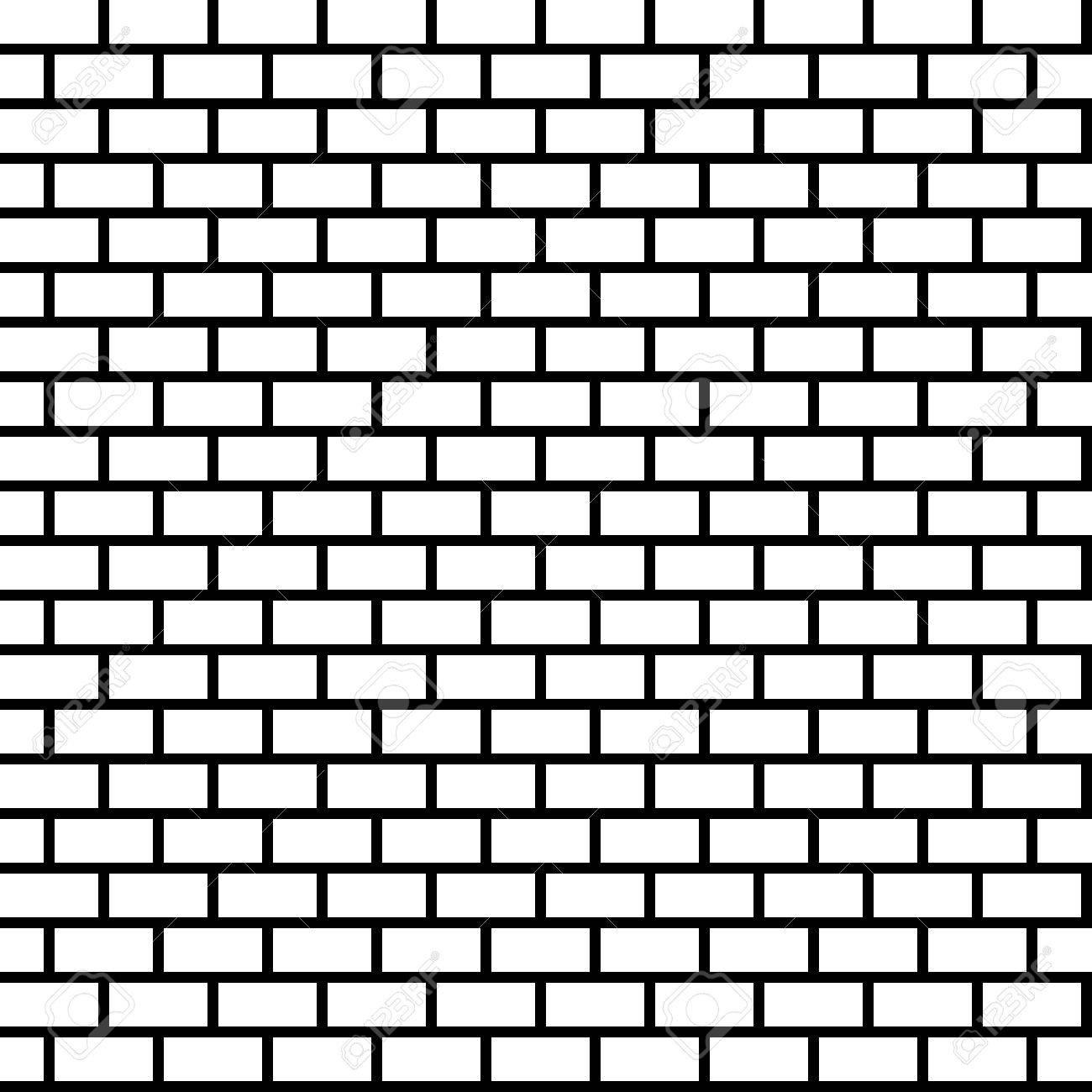 Seamless brick wall background.