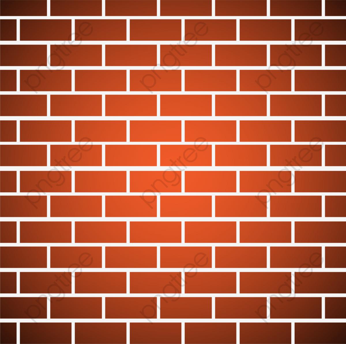 Orange Minimalist Brick Wall, Orange Clipart, Orange, Simple PNG.