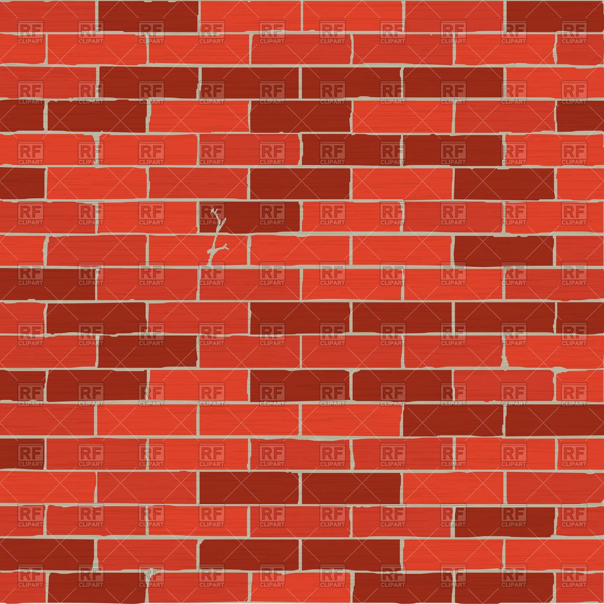 Texture of cartoon brick wall Stock Vector Image.