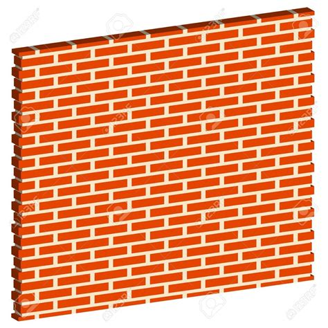 Brick Wall Square Clip Art At Clkercom Vector Clip Art, Wall Clip.