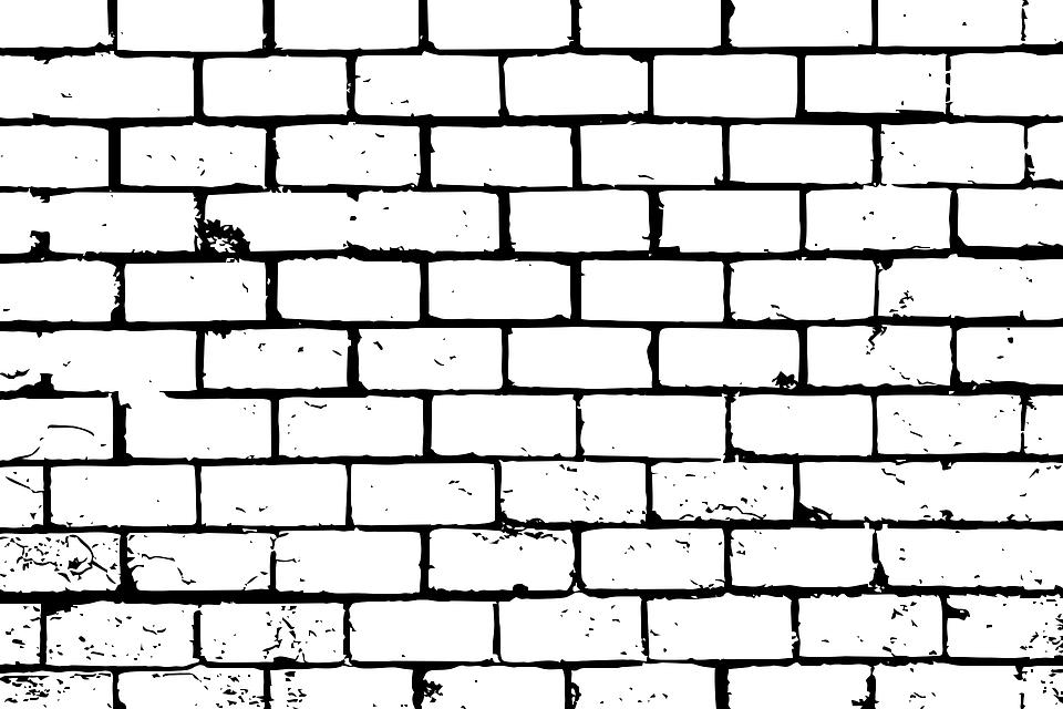 Bricks Wall Brick Background.