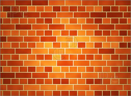 Brick wall background clipart.