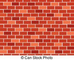 Clip Art Brick Wall.