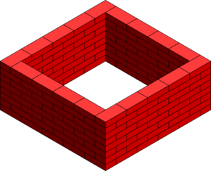 Brick Wall Square Clip Art at Clker.com.