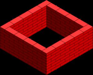 Brick Wall Square Clip Art at Clker.com.