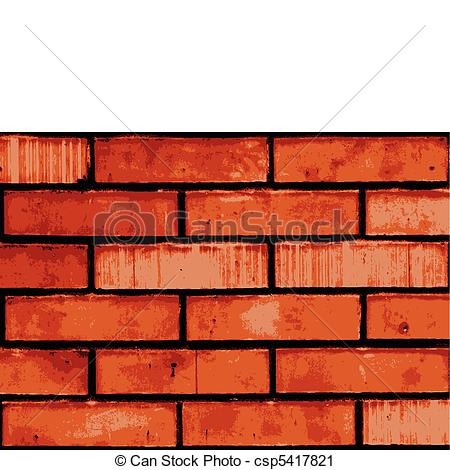 Vector Clip Art of Vector brick wall.