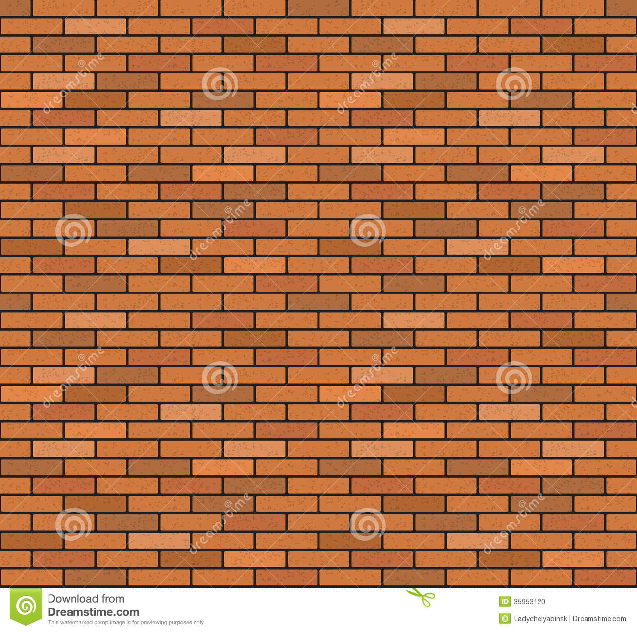 Single Brick Clipart.