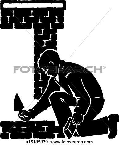 Brick layer Clip Art Royalty Free. 177 brick layer clipart vector.