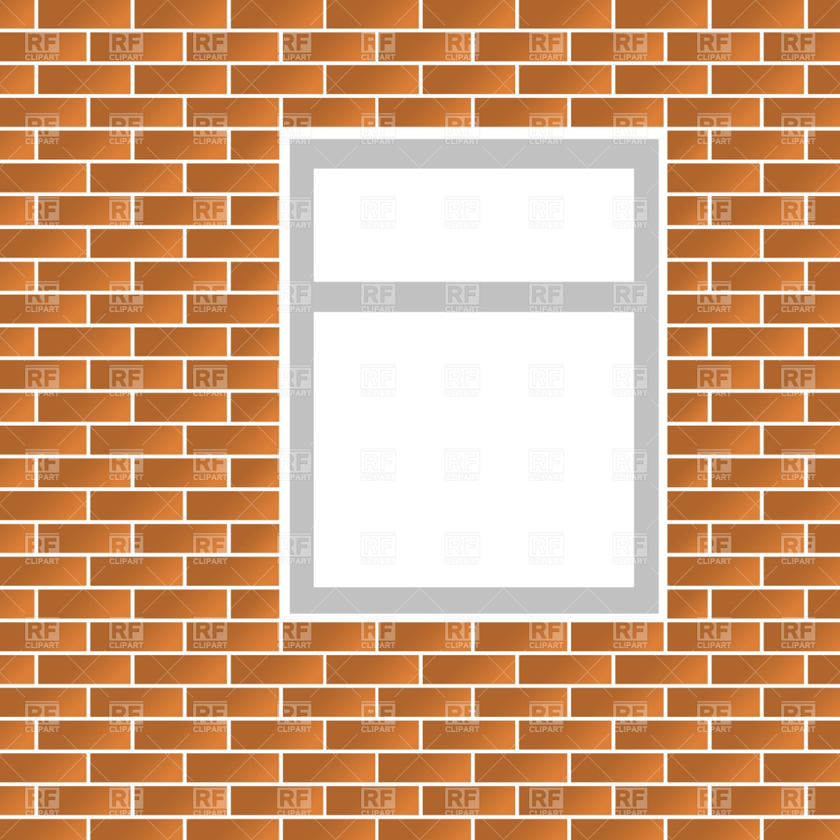 Brickwork Vector Image #1162.