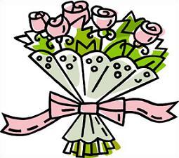 Bridal bouquet clipart free.