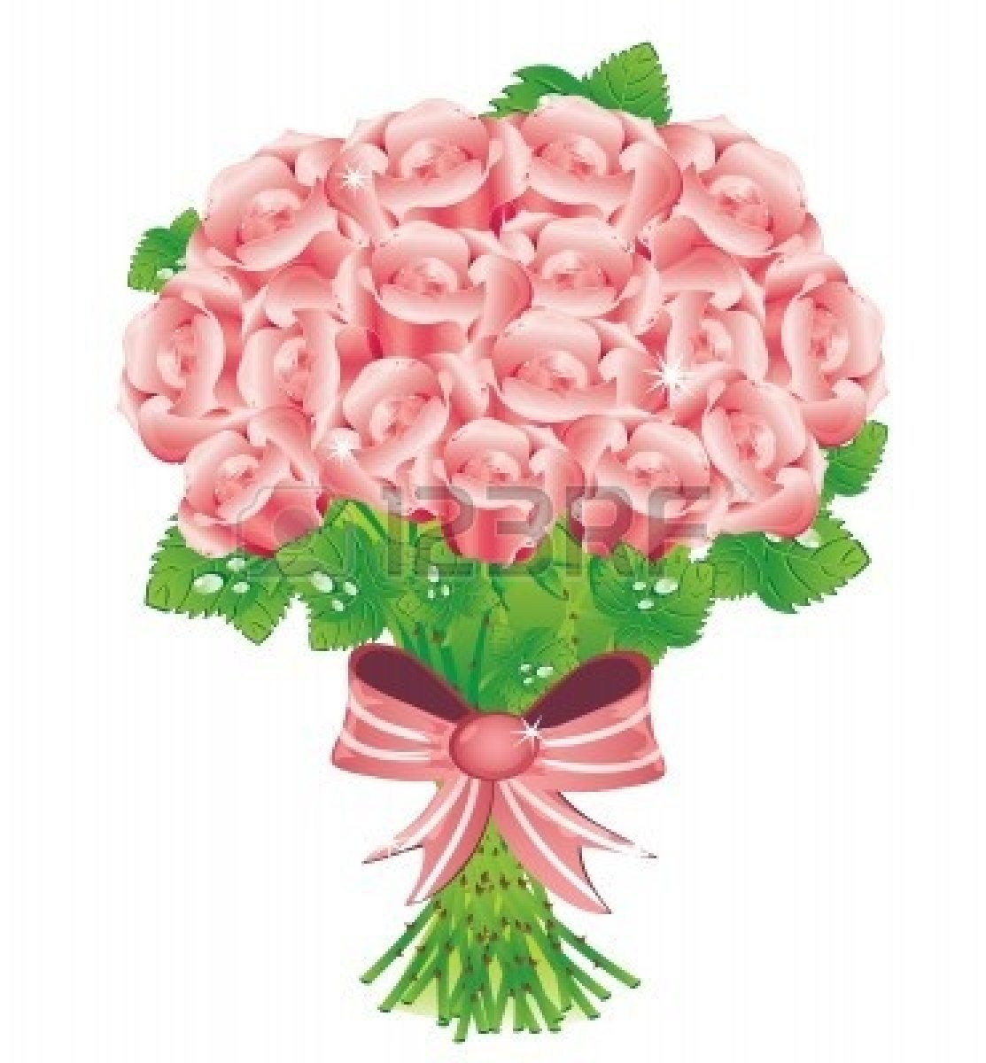 Bridal bouquet clipart free.