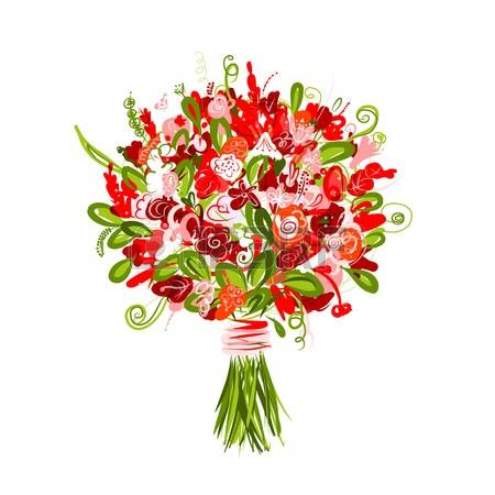 9,501 Bridal Bouquet Cliparts, Stock Vector And Royalty Free.