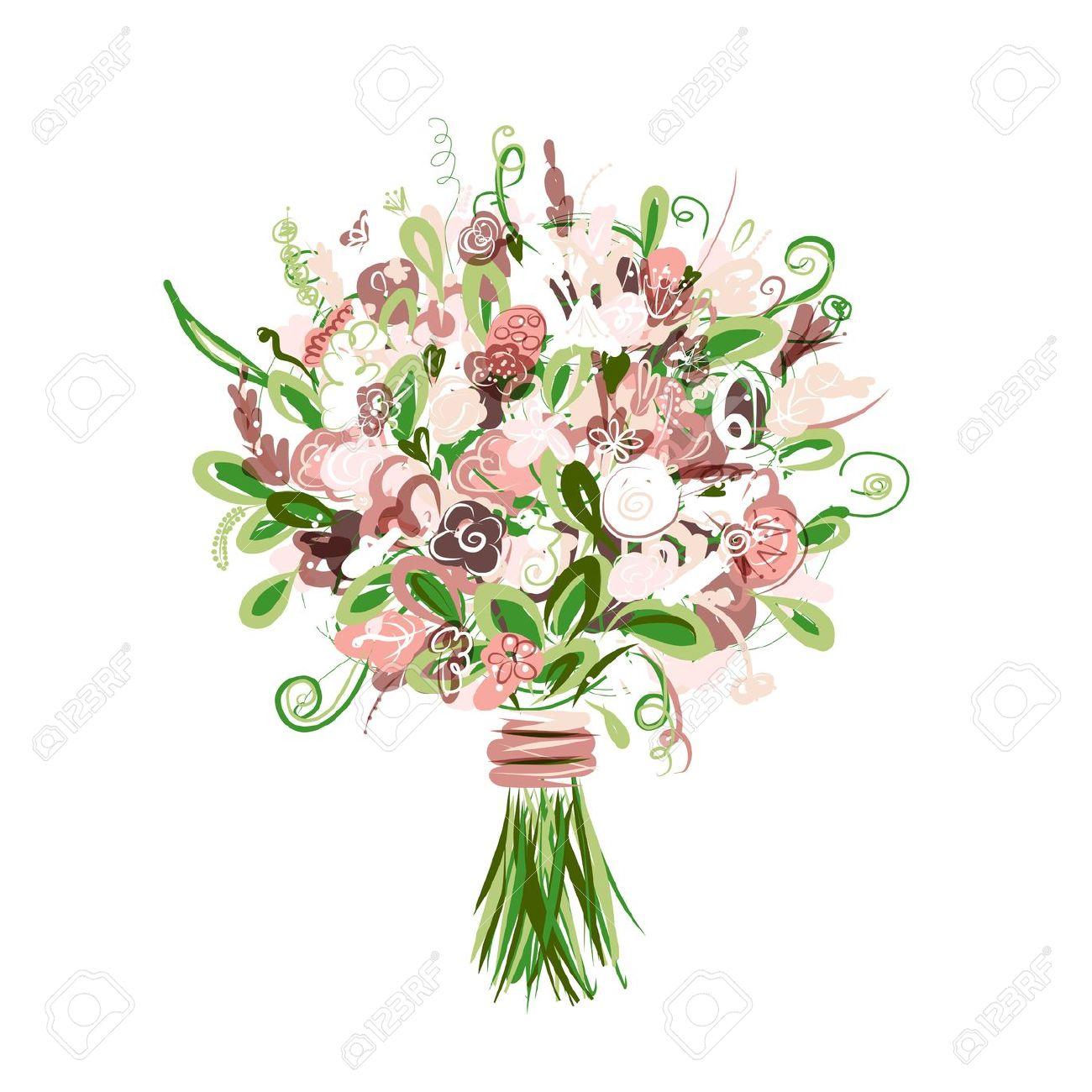 Bridal bouquet clipart 20 free Cliparts | Download images ...