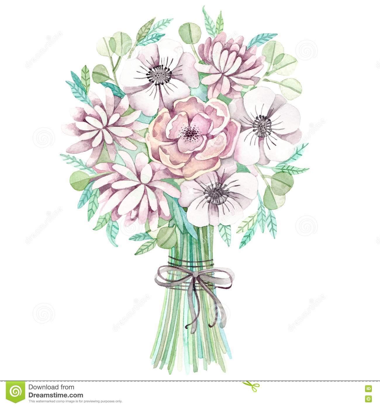 Clipart Wedding Bouquet.