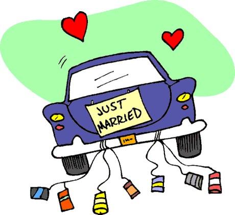 Wedding Car Clipart.
