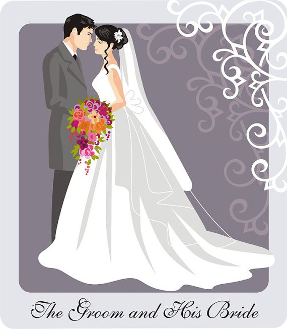 Collection of 14 free Bridal clipart wedding couple aztec clipart.