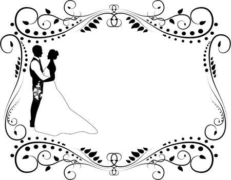 122,867 Wedding Couple Stock Vector Illustration And Royalty Free.