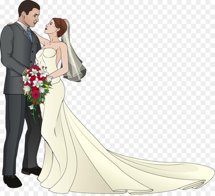 Wedding Dress Drawing png download.