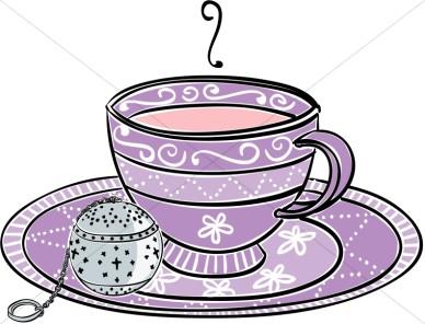 Ladies tea clipart.