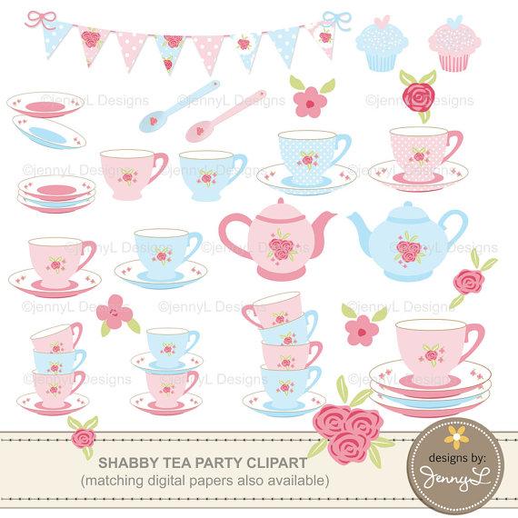 Bridal cups clipart #12