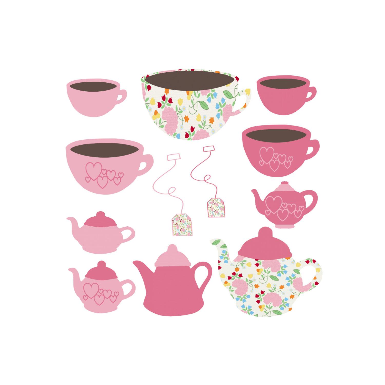 Bridal tea clipart.